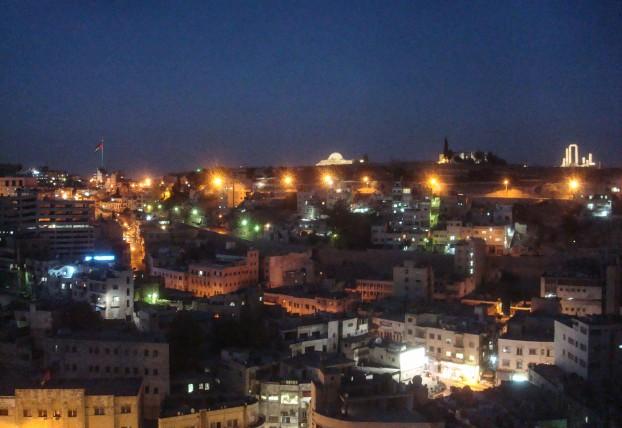 Urdun_Amman_gece