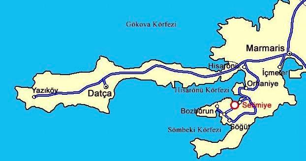 selimiye_marmaris_harita