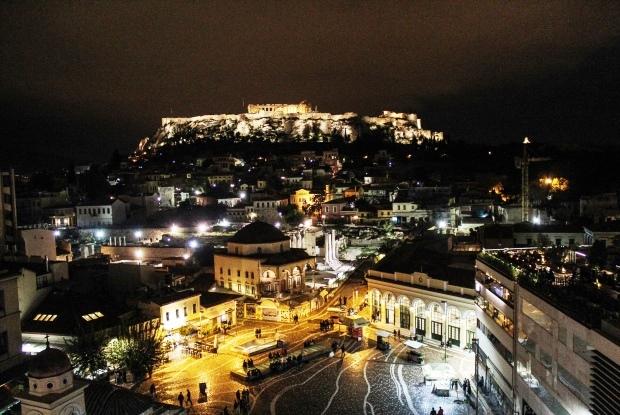 atina_monastiraki_akropolis_gece