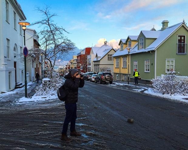 izlanda_reykjavik_skolavördustigur_caddesi