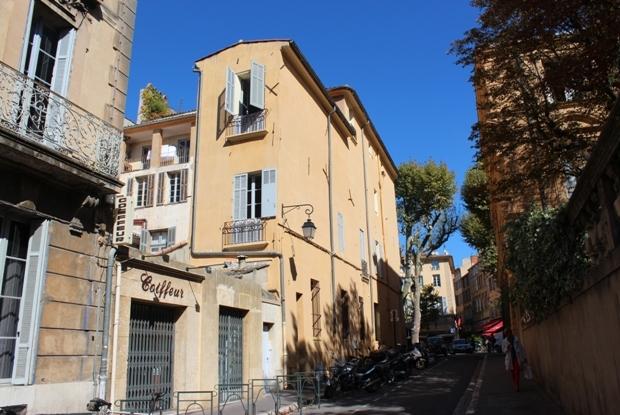 aix-en-provence-rue-du-4-septembre-sokak