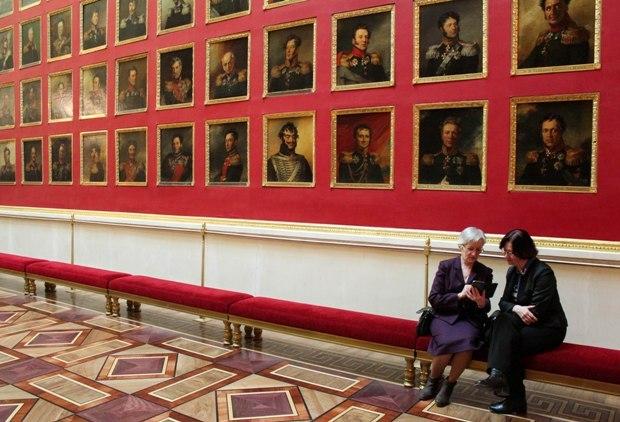 St. Petersburg Ermitaj Müzesi