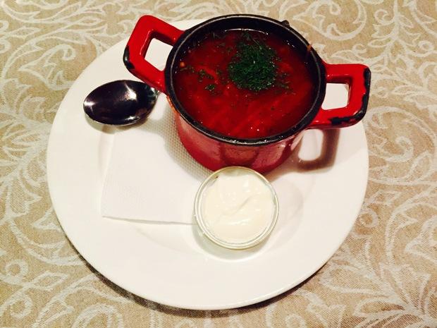borş çorbası