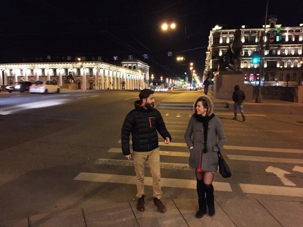 St. Petersburg gece hayatı