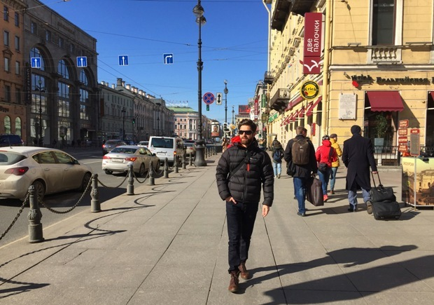 St. Petersburg Nevski Bulvarı
