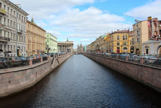 St. Petersburg Griboyedov Kanalı