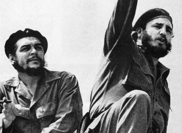 Che Guavera ve Fidel Castro