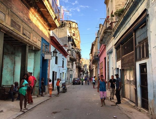 küba havana sokakları