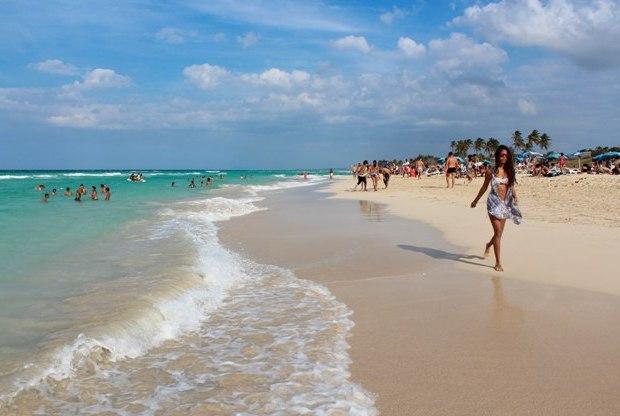 Küba Havana plaj