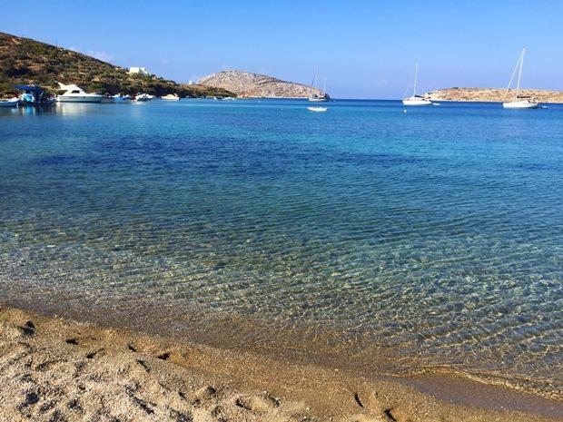 Leros adası Yunanistan