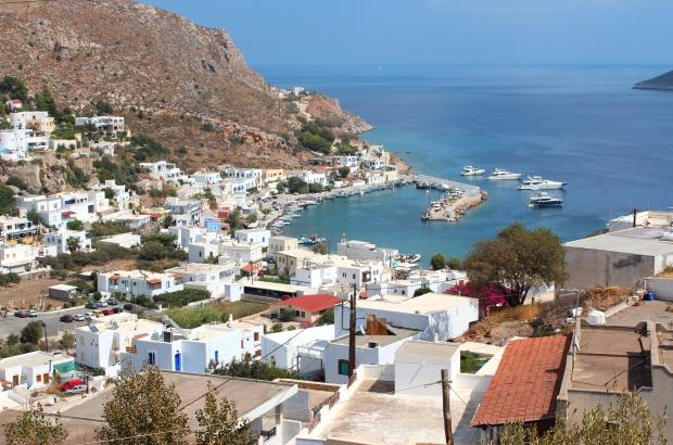 Leros Yunan adası